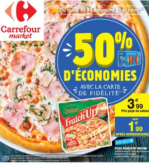 Catalogue Carrefour Market Du 23 Au 28 Octobre 2018