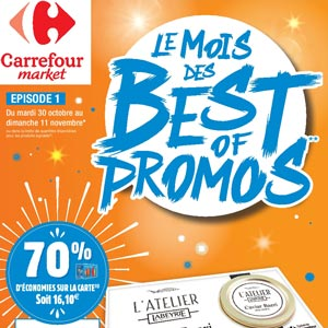 Catalogue Carrefour Market Du 30 Octobre Au 11 Novembre 2018