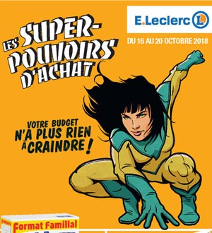 Catalogue E-Leclerc Du 16 Au 20 Octobre 2018