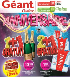 Catalogue Géant Casino Du 16 Au 28 Octobre 2018