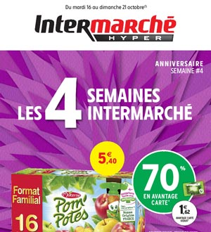 Catalogue Intermarché Hyper Du 16 Au 21 Octobre 2018