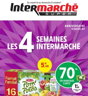 Catalogue Intermarché Super Du 16 Au 21 Octobre 2018