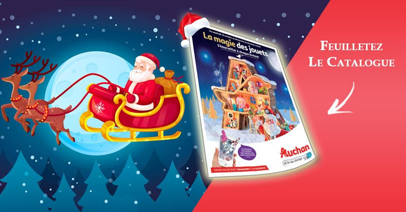 Catalogue Jouets Auchan Noël 2018