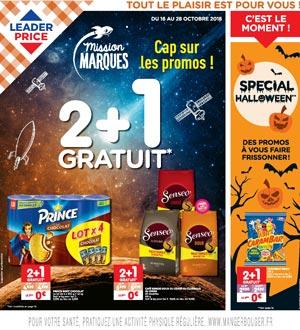 Catalogue Leader Price Du 16 Au 28 Octobre 2018