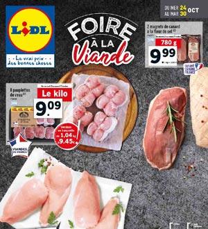 Catalogue Lidl Du 24 Au 30 Octobre 2018