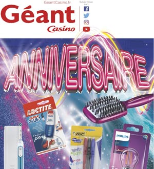 Catalogue Géant Casino Du 8 Au 21 Octobre 2018