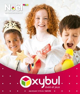 Oxybul Eveil et Jeux Catalogue Jouet Noël 2018
