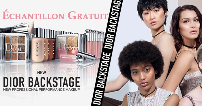 Échantillon Gratuit Fond de Teint DIOR BACKSTAGE FACE & BODY FOUNDATION