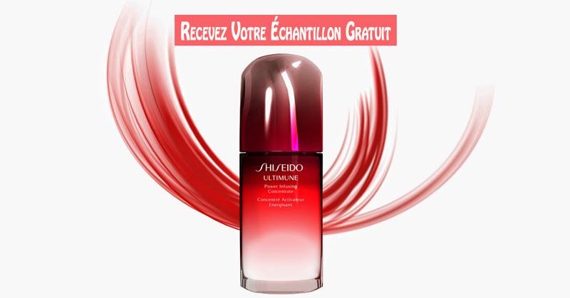 Échantillon Gratuit du Sérum Ultimune de Shiseido