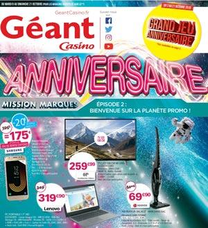 Catalogue Géant Casino Du 9 Au 21 Octobre 2018