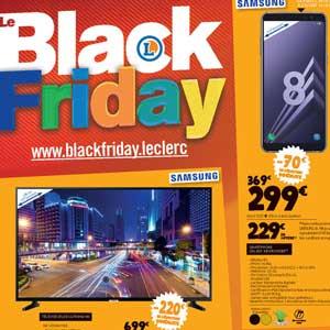 Catalogue E-Leclerc BLACK FRIDAY Du 20 AU 24 Novembre 2018