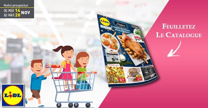 Catalogue Lidl Du 14 Au 20 Novembre 2018