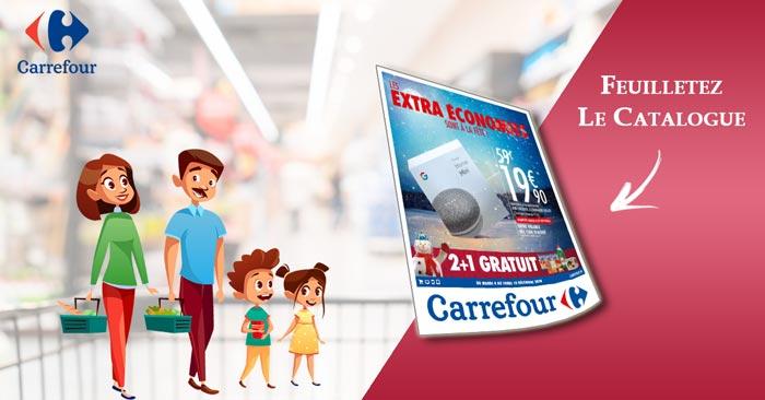 Catalogue Carrefour Du 4 Au 10 Décembre 2018 Les extra économies sont à la fête !