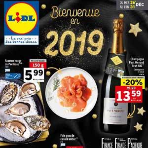Catalogue Lidl Du 26 Au 31 Décembre 2018