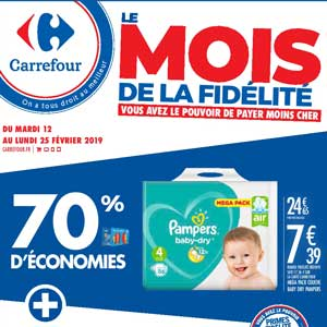 Catalogue Carrefour Du 12 Au 25 Février 2019