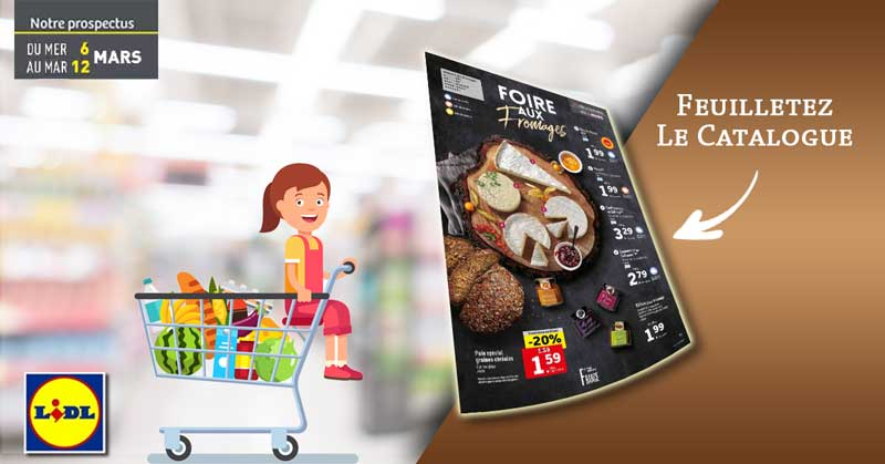Catalogue Lidl Du 6 Au 12 Mars 2019