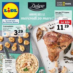 Catalogue Lidl Du 20 Au 26 Mars 2019