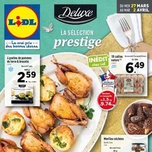 Catalogue Lidl Du 27 Mars Au 2 Avril 2019