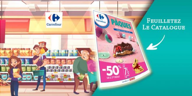 Catalogue Carrefour Du 16 Au 22 Avril 2019