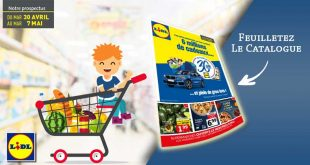 Catalogue Lidl Du 30 Avril Au 7 Mai 2019