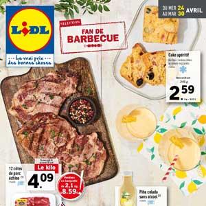 Catalogue Lidl Du 24 Au 30 Avril 2019