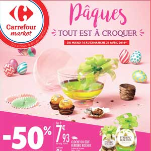 Catalogue Carrefour Market Du 16 Au 21 Avril 2019