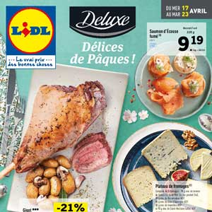 Catalogue Lidl Du 17 Au 23 Avril 2019