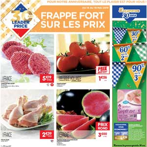 Catalogue Leader Price Du 14 Au 19 Mai 2019