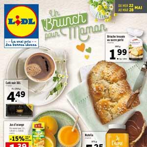 Catalogue Lidl Du 22 Au 28 Mai 2019