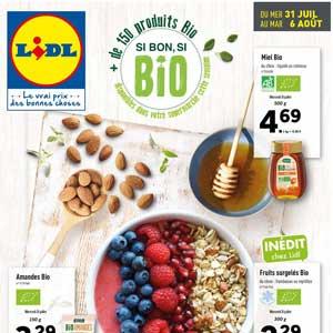 Catalogue Lidl Du 31 Juillet Au 6 Août 2019