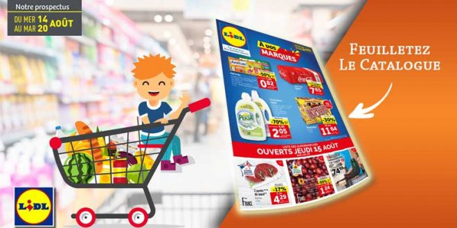 Catalogue Lidl Du 14 Au 20 Août 2019