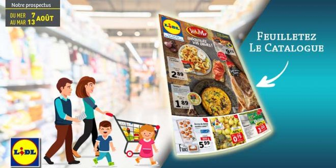 Catalogue Lidl Du 7 Au 13 Août 2019