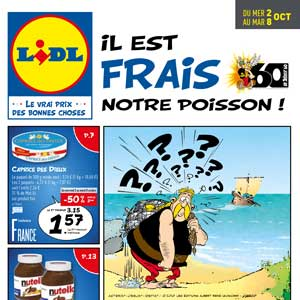 Catalogue Lidl Du 2 Au 8 Octobre 2019