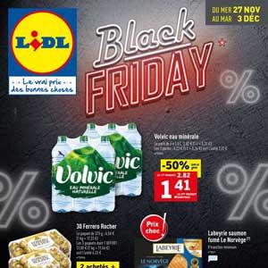 Catalogue Lidl Spécial Black Friday