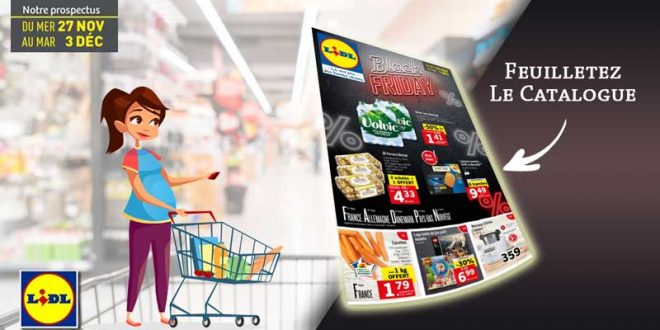Catalogue Lidl Black Friday