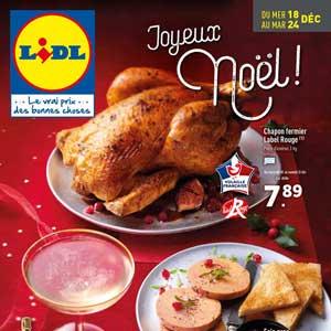 Catalogue Lidl noel de la semaine
