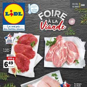 Catalogue Lidl Du 2 Au 7 Janvier 2020