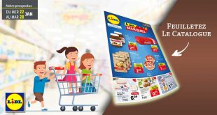 Catalogue Lidl en ligne Du 22 Au 28 Janvier 2020