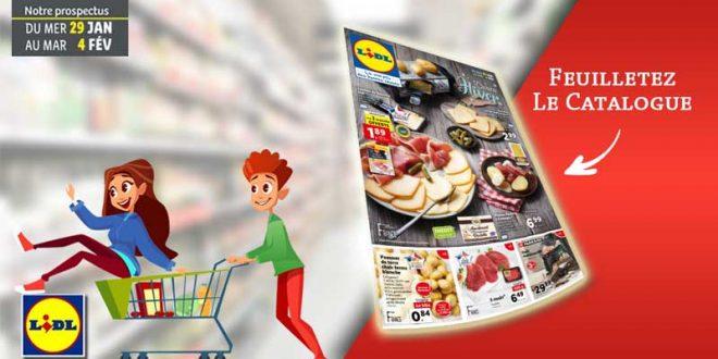 Catalogue Lidl en ligne Du 29 Janvier Au 4 Février 2020