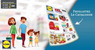 Catalogue Lidl en ligne Du 8 Au 14 Janvier 2020