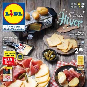 Catalogue Lidl de la semaine Du 29 Janvier Au 4 Février 2020