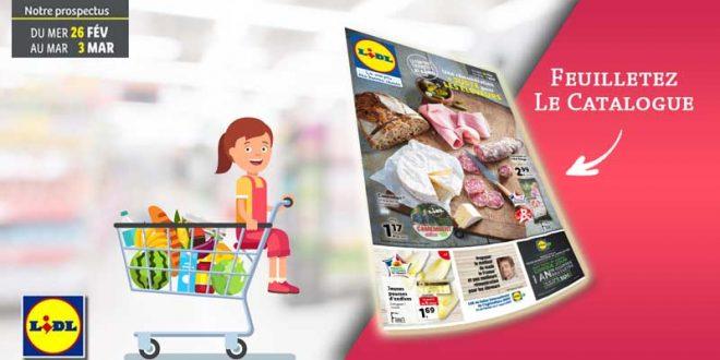 Catalogue Lidl en ligne Du 26 Février Au 3 Mars 2020