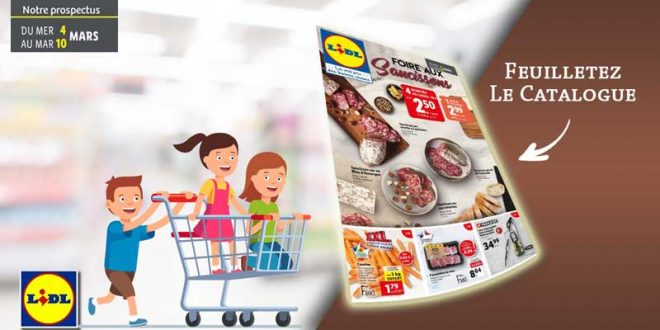 Catalogue Lidl Du 4 Au 10 Mars 2020