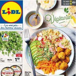 Catalogue Lidl de la semaine Du 12 Au 18 Février 2020