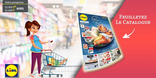 Catalogue Lidl en ligne Du 1er Au 7 Avril 2020