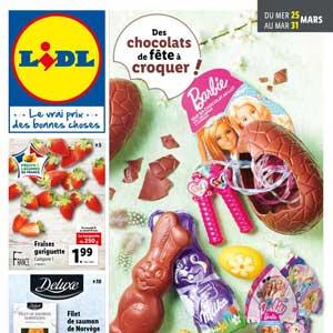 Catalogue Lidl en ligne Du 25 Au 31 Mars 2020