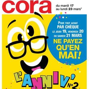 Catalogue Cora de la semaine Du 18 Au 24 Mars 2020