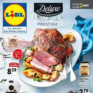 Catalogue Lidl en ligne Du 11 Au 17 Mars 2020