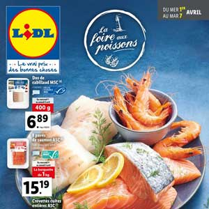 Catalogue Lidl de la semaine Du 1er Au 7 Avril 2020