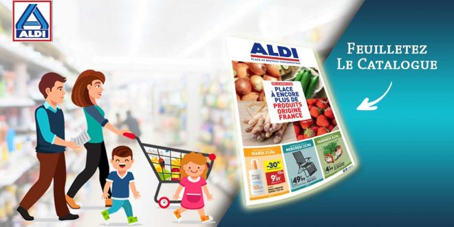 Catalogue Aldi en ligne Du 21 Au 27 Avril 2020